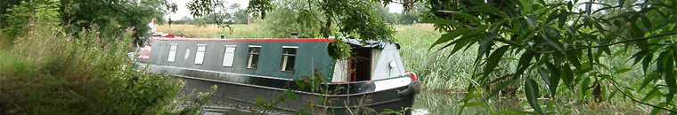 Barge, Loughborough Canal